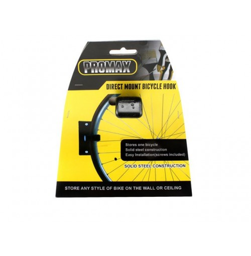 Direct Mount H/Duty Bicycle Hook Coated