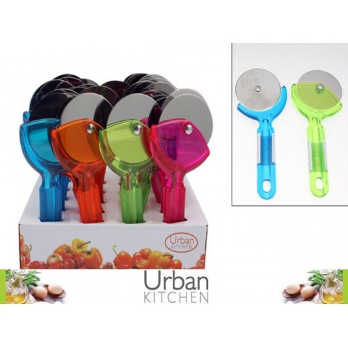 Pizza Cutter 4colrs Summer Vibes
