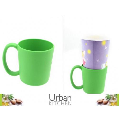 Coffee Cup Sleeve W/Handle