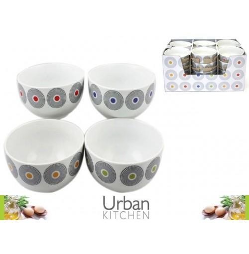 Dots Decal Bowl Porcelain 13cm