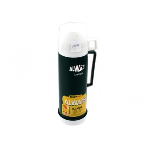 Vacuum Flask 1l Glass Borosilicate