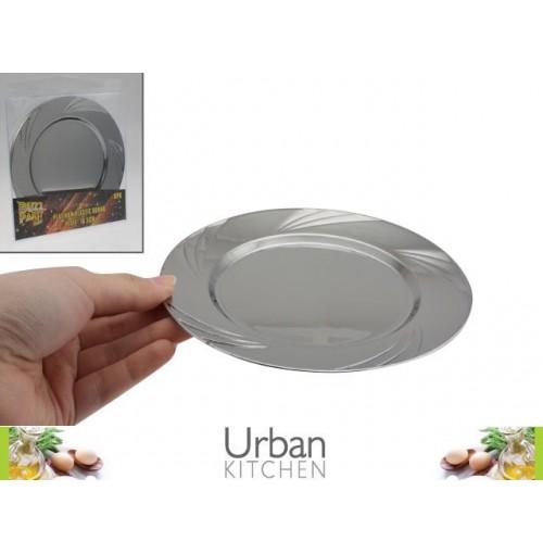 Platinum Plastic Plate 16.5cm 6pc Acetate Box