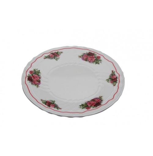 Vintage Flower Plate 18cm Melamine