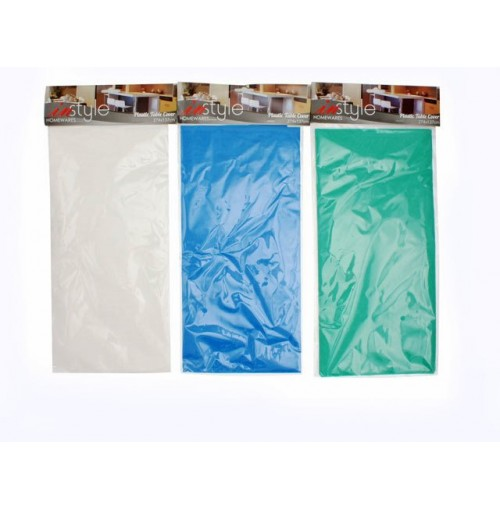 Table Cover Plastic Rectangle 274x137cm