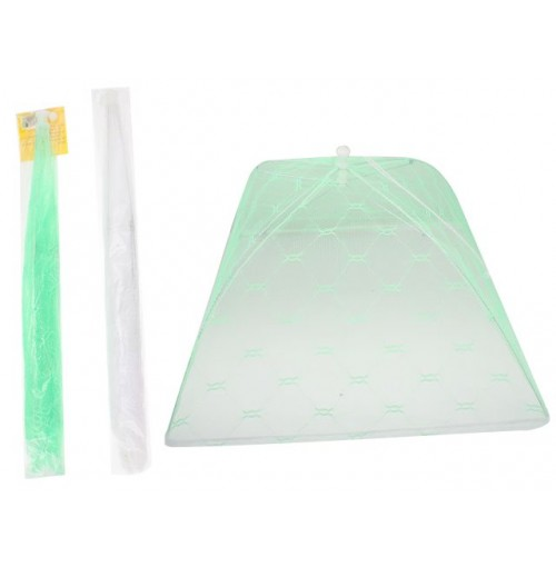 44cm Netted Food Cover Pop Up 6 Asst
