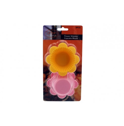 Flower Fun Cups 6pc Silicone