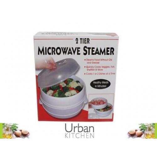 2 Tier Microwave Steamer