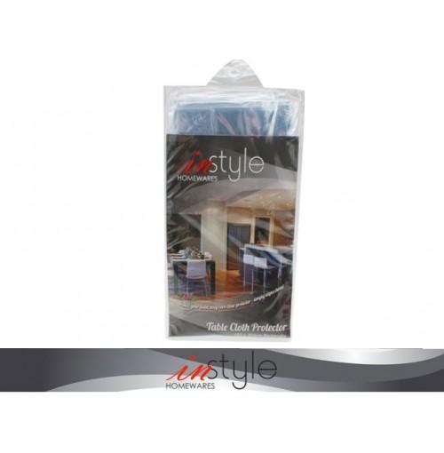 Table Cloth Protector Clear 152 X 304cm Plastic