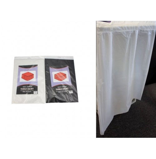 Table Skirt Plas 4mx76cm