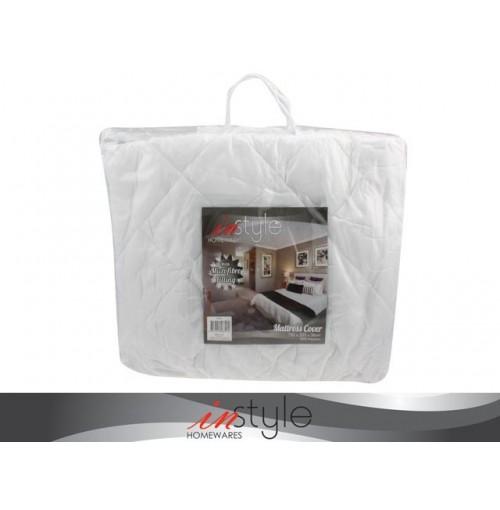 Mattress Cover With Microfibre Fill 152x203cm