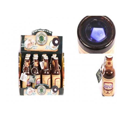 Drinking Game In A Bottle W/Keychain
