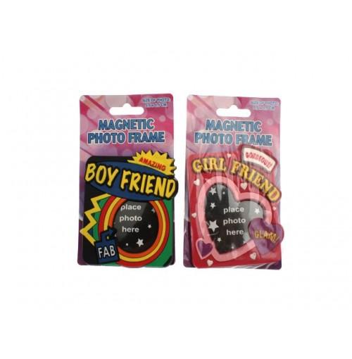 Magnetic Photo Frame Boy/Girlfriend