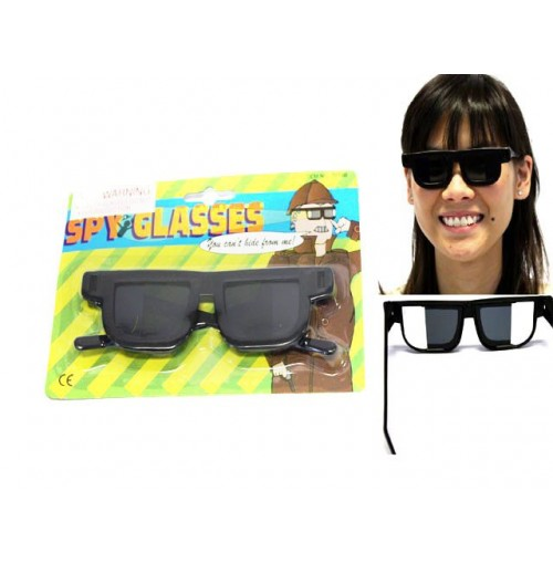 Spy Glasses W/Side Mirrors