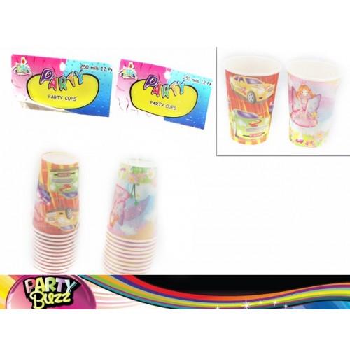 Party Cups 12pcs 250ml