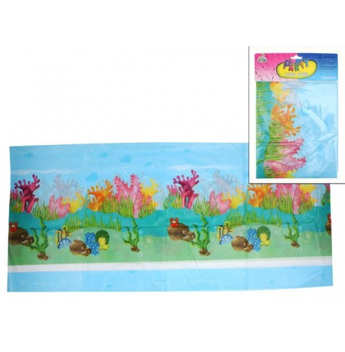 Sea Life Birthday Table Cover 138x183cm