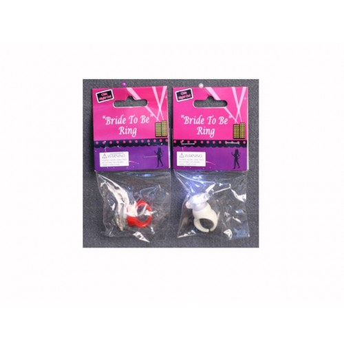 Hens Party Plastic Rings
