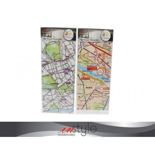 Fridge Magnets Famous Cities