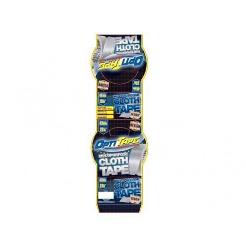 Opti Tape Multi Purpose Cloth 48mm X 10m Sleeve Pack