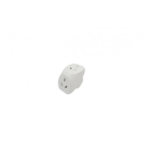 Opti Power Double Adapter 240w Vertical No Surge Protection
