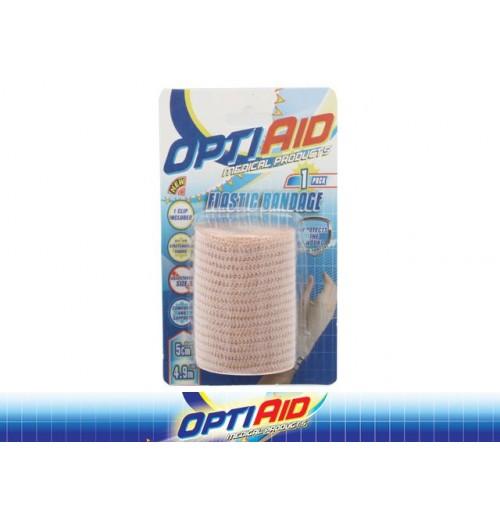 Opti Aid Elastic Bandage 4.9m X 5cm