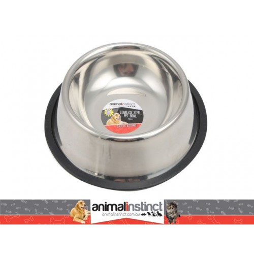 Pet Dish Stainless Steel Non Slip 15cm 240ml