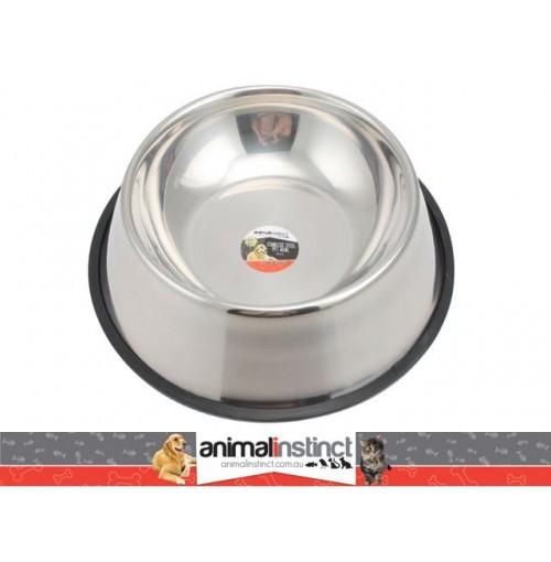 Pet Dish S/Steel Non Slip 26cm 900ml