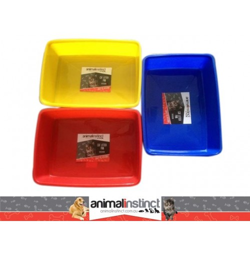 Cat Litter Pan Plastic 26x35x9cm