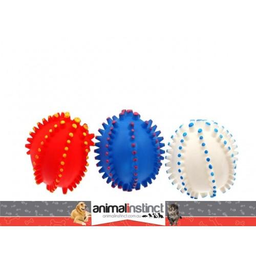 Pet Retrieval Toys 3 Pk Spikey Pvc