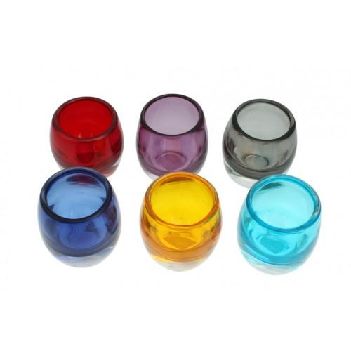 Votive Glass Candle Holder D/7cm H/8cm