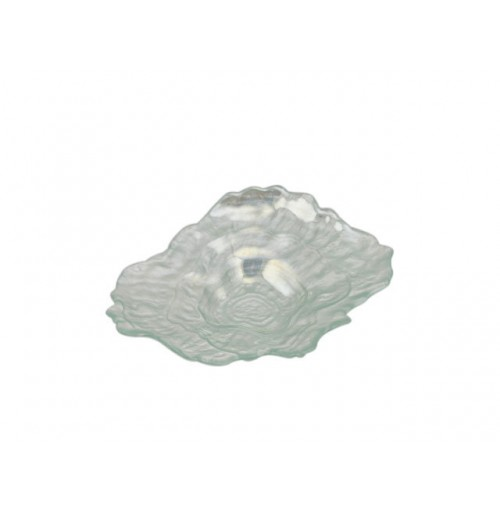 Rylee Oyster Shpd Laser Plate Sml 21.5x16x4cm
