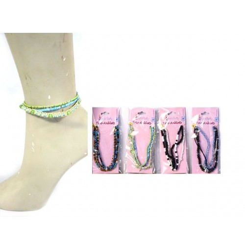 Anklets Trio Beach Babe Fashion 4