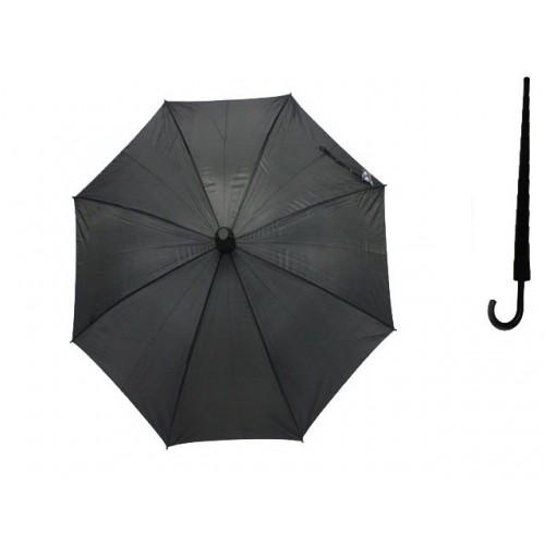 Umbrella Unisex Black 57.5cm