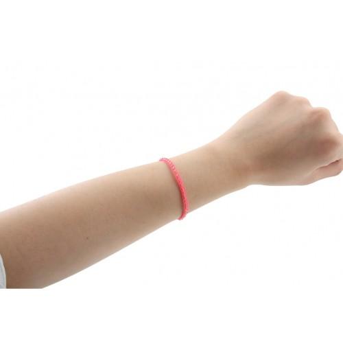Bracelets Threads Nylon Tassel W. Silv Accents On Disp