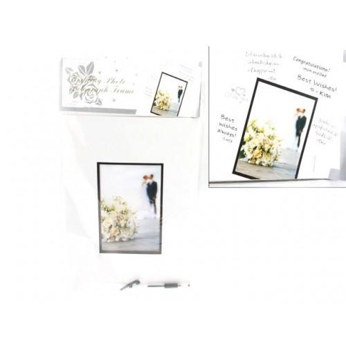 Autograph Photo Frame 5x7 Wedding