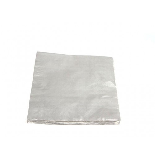 Napkins Paper 20pc Silver 33x33cm