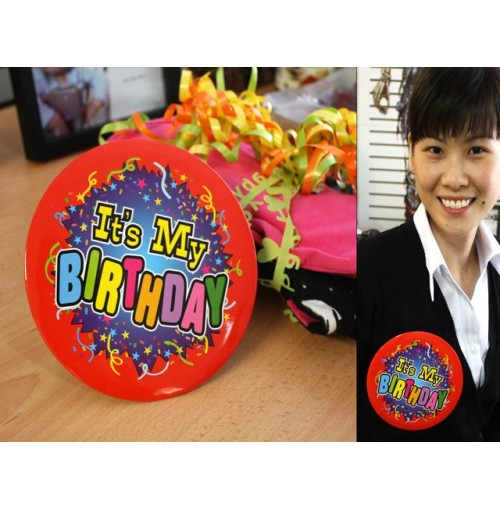 Birthday Badge 15cm Large
