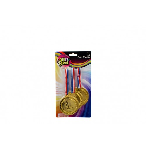 Gold Medals 3pce