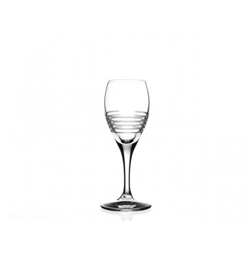 Break Line Calice Liqueur Goblet Set Of 6