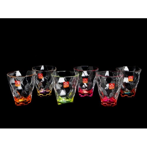 Riflessi 2 Bicolour Set 6 Bicchieri