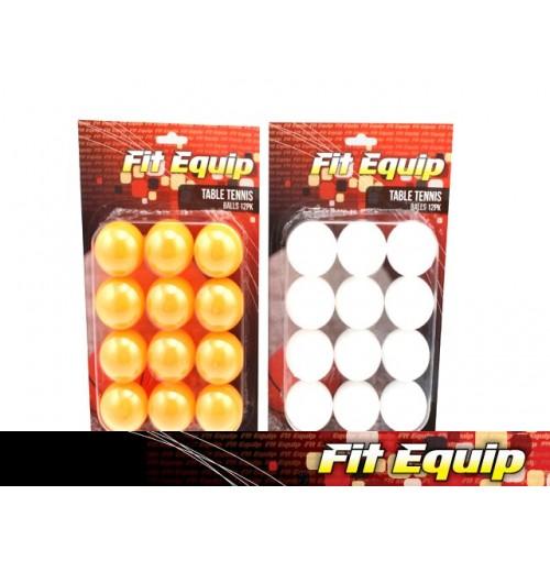Table Tennis Balls 12pcs 2 Assorted Colors