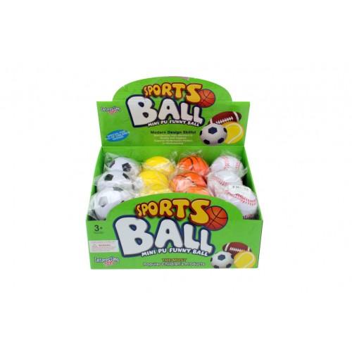 Sports Balls Pu In Display