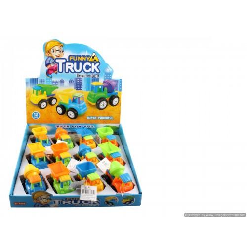 Work Trucks In Display