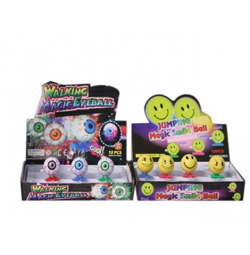 Inflatable Massage Ball 20cm 4 Asstd Colours