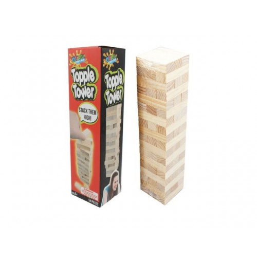 Topple Tower 54 Piece