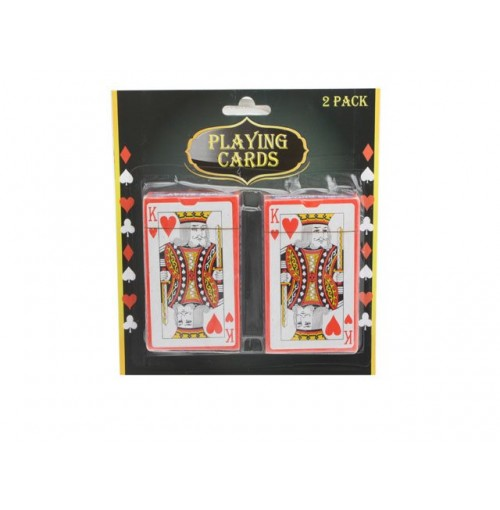 Playing Cards Coated 2pk