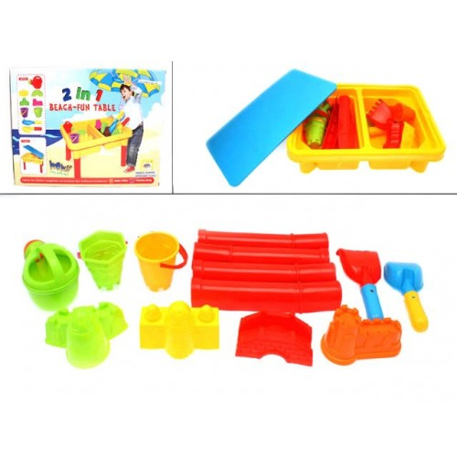 Beach Toys Fun Table 11pc