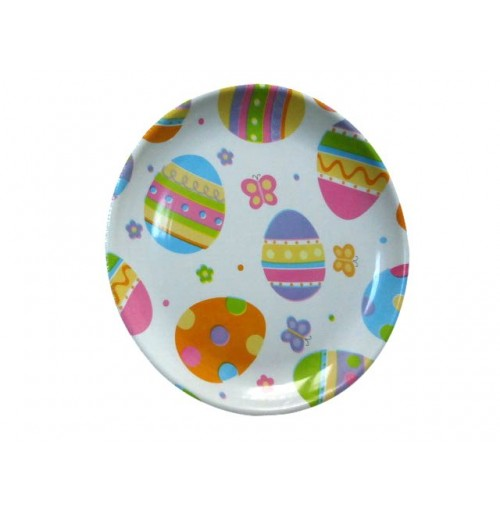 Round Easter Tray Printed 26cm Dia