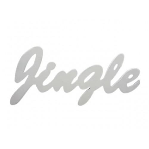 Xmas Inspirational Sayings Jingle 37x15x1.2 Cm